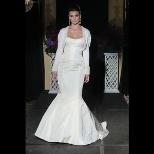Isabelle armstrong mitzi mermaid wedding gown